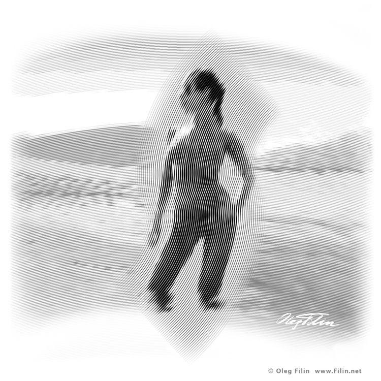 Sea, digital graphics Oleg Fili - filin   ello