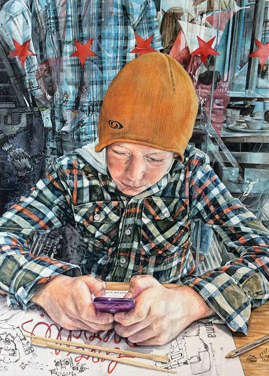 Amazing paintings drawings awar - nettculture | ello
