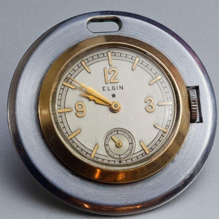1935 inspired Elgin pocket watc - photoinmotion | ello