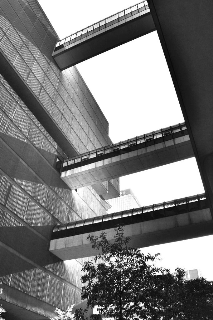 Shades - architecture, blackandwhite - drewsview74 | ello