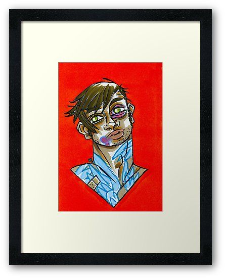 Wing Man!! Art Prints, Apparel  - shedges | ello