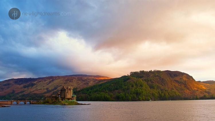 Eilean Donan Castle, Kyle Locha - newlightdreams | ello