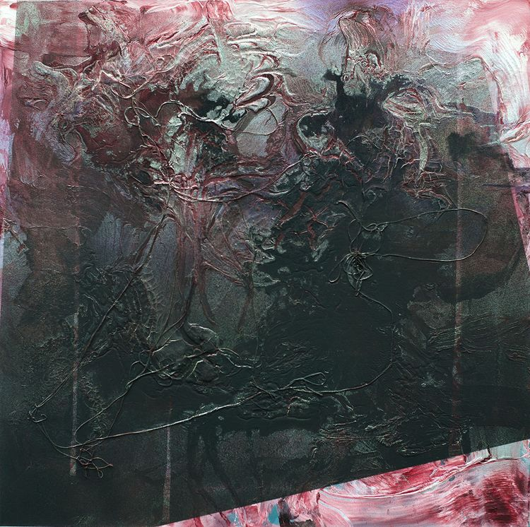 Feed acrylic canvas, 40x40, 201 - bjornbauerart   ello