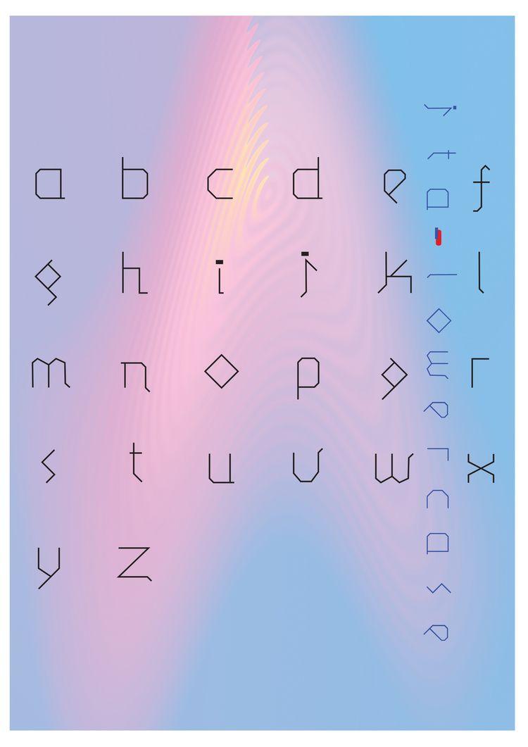 Revived font Magazine spread -  - errornes   ello