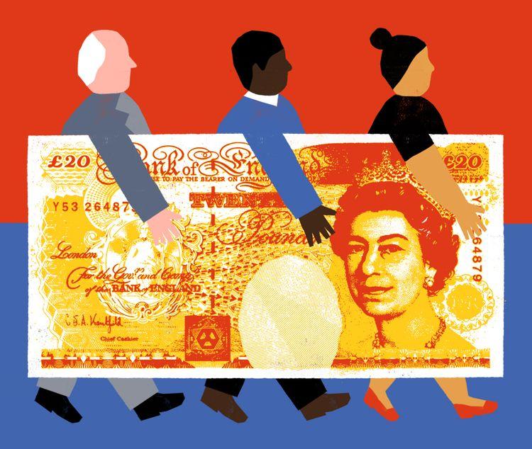 Diversity Workplace Wired UK - illustration - grossillustration | ello