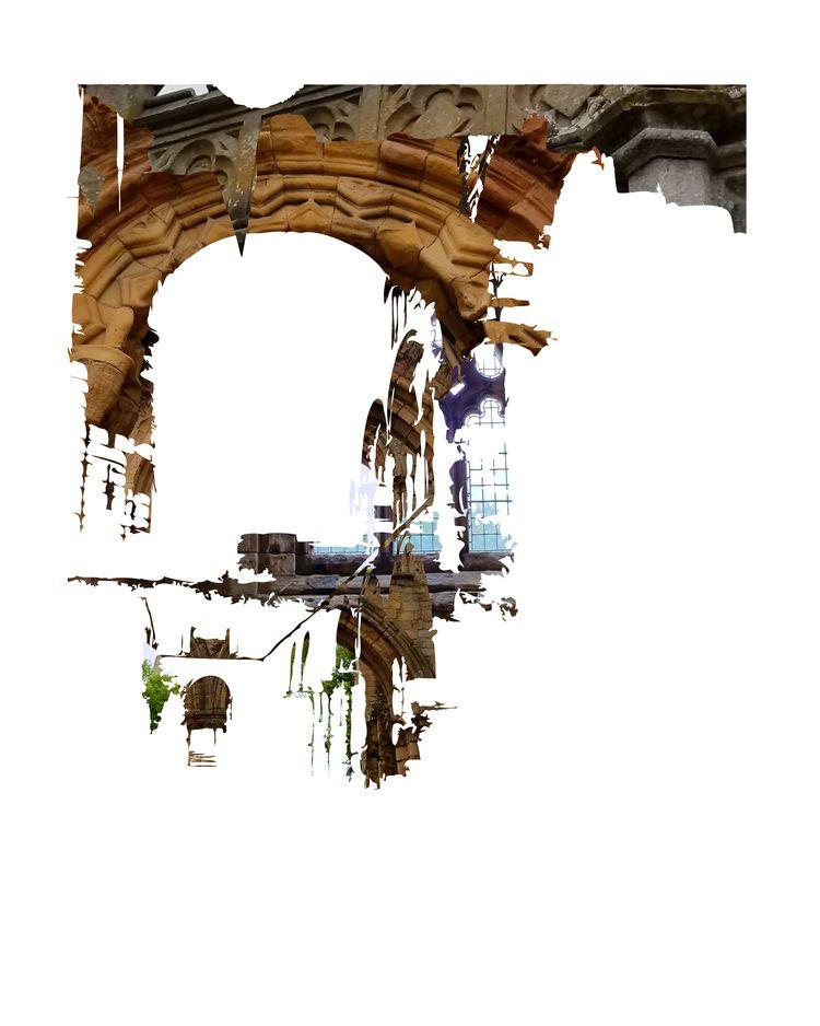 Jedburgh Abbey - art, contemporaryart - paulsmedberg | ello