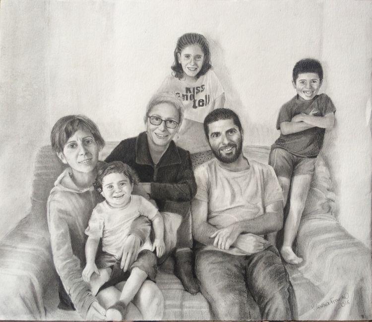 familyphoto, family, art, italianart - valentinafranchi92 | ello