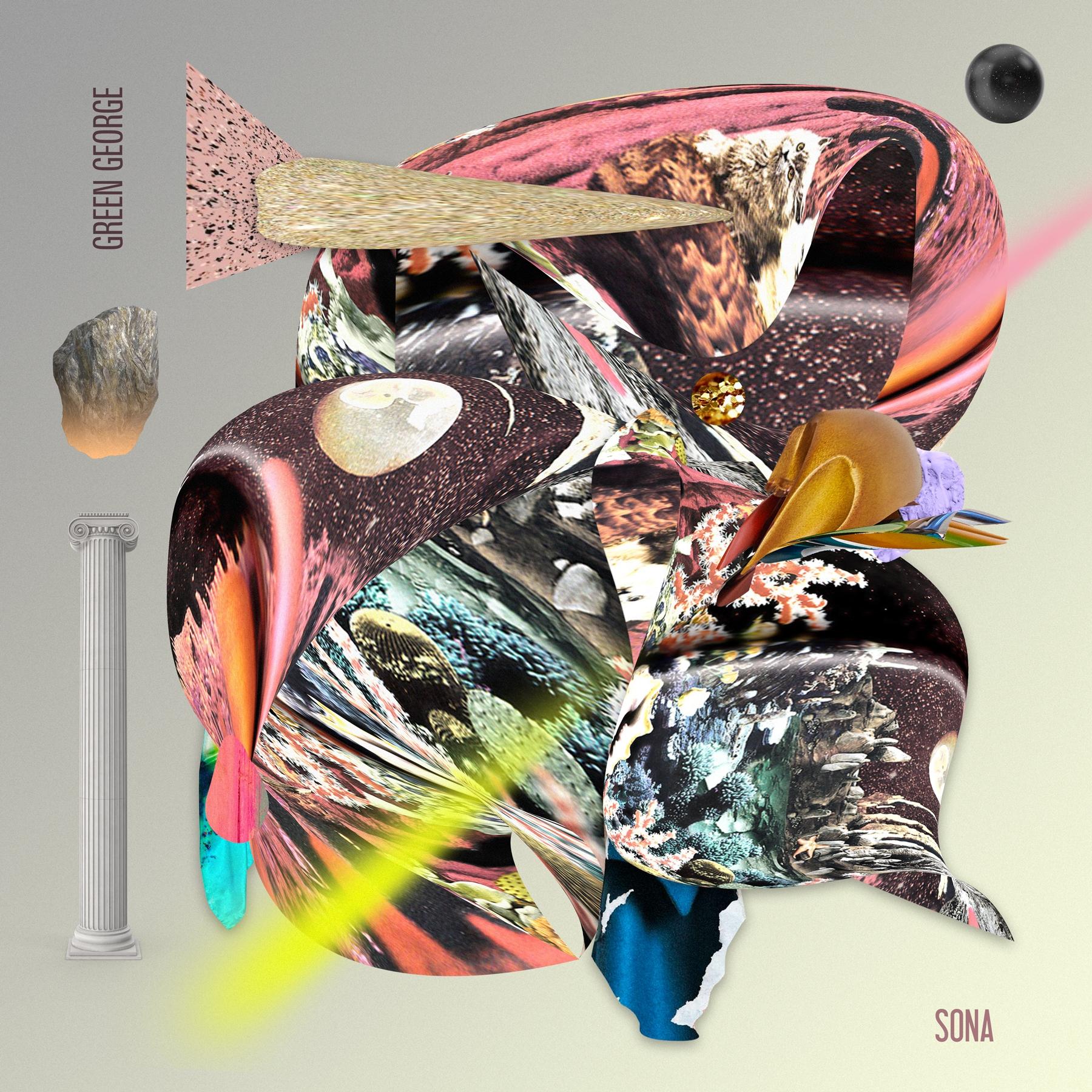 EP cover Green George/Sona Luci - carolinanino | ello