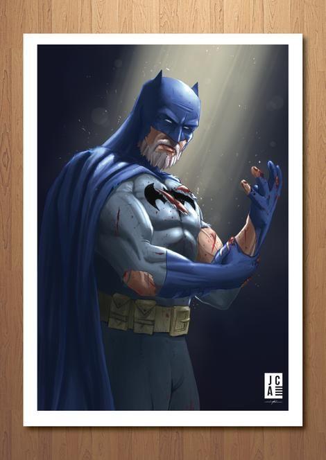 Buy Premium Quality Batman Art  - jacksoncasperszart | ello