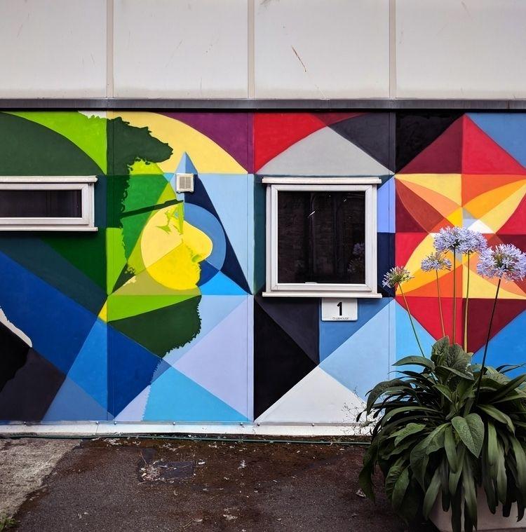 Close shot part mural spraypain - shaneomalleyart | ello