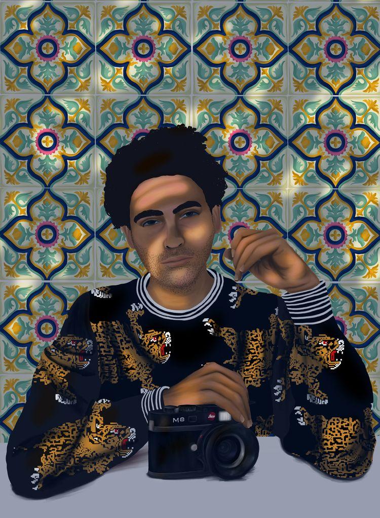 Portrait El Tigre Escobar, Fash - stefaniatejada | ello