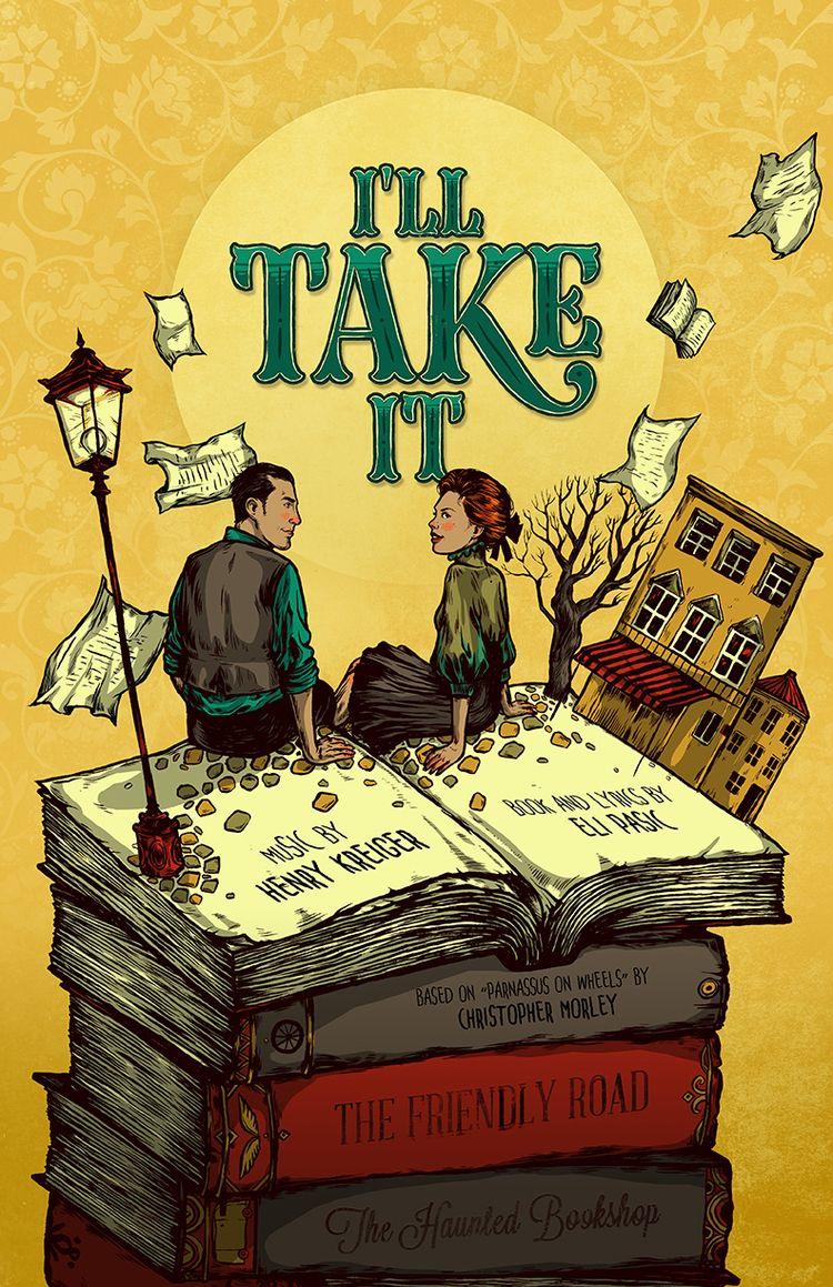 Theatre play poster Town Compan - nicolaenegura | ello