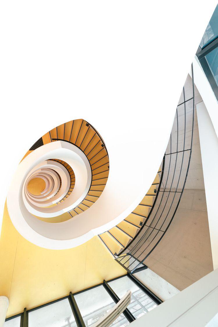 staircase, spiral, spiralstaircase - adrelanine | ello