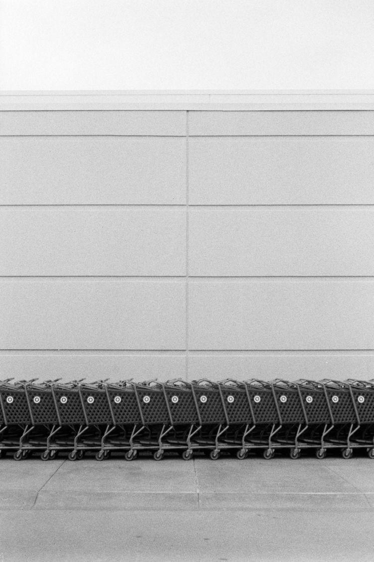 Carts [Nikon F3, 28mm f2.8 HP5+ - timothy_hoang | ello