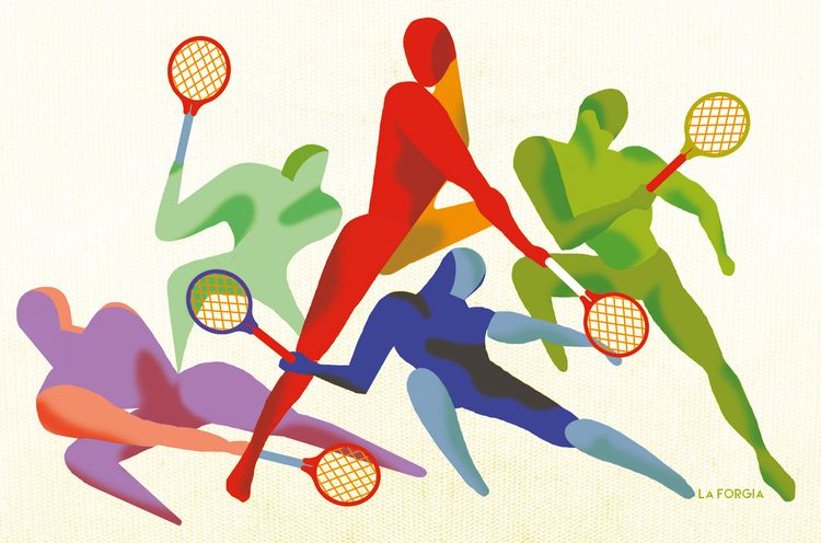 Italian tennis players qualifie - robertolaforgia | ello