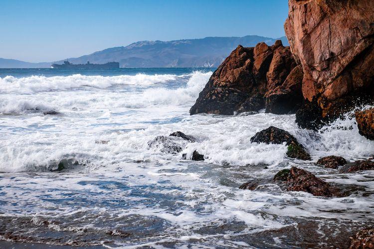 Sailing Rocks ship sails San Fr - mattgharvey | ello