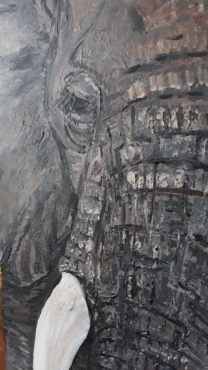 cleoart, wildlifepainting, elephant - cleoart | ello