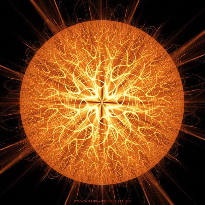 Sun God Reed - Sya, fractal, apophysis - sya | ello