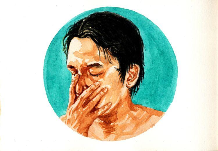 watercolor - art, portrait, painting - ireneo | ello