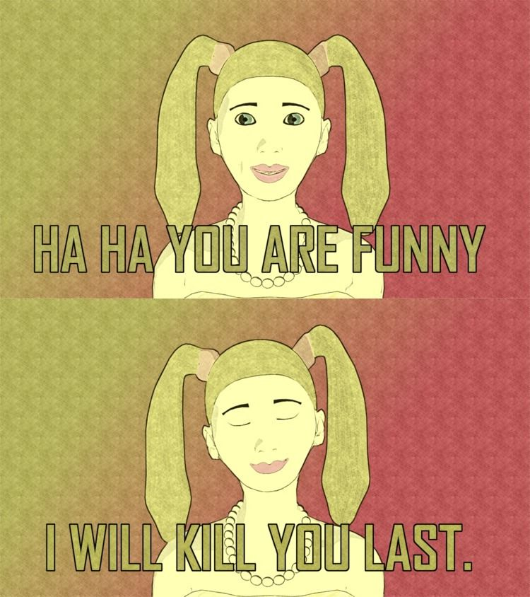 Haha, funny...#Meme - Horror, Otaku - nordicbalt | ello