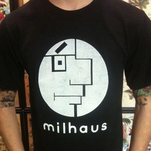 Milhaus, Milhouse - Mashup, Simpsons - bauhaus-movement | ello