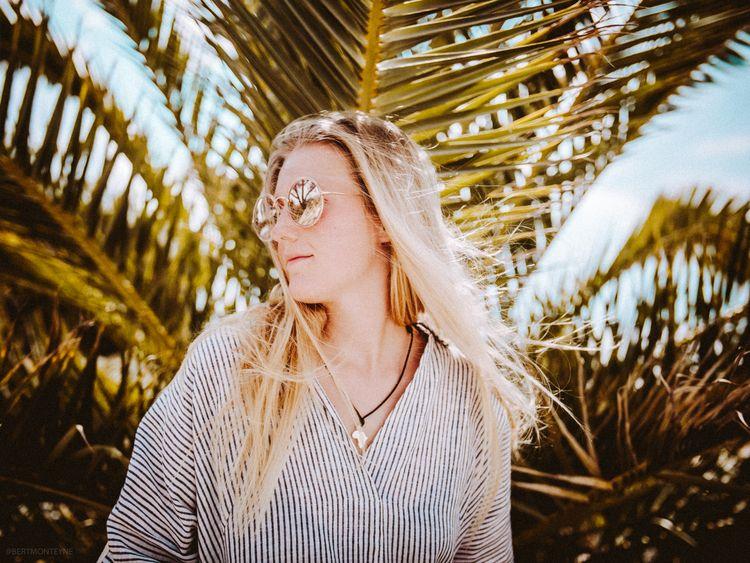 Palmtree portrait Follow - bertmonteyne | ello