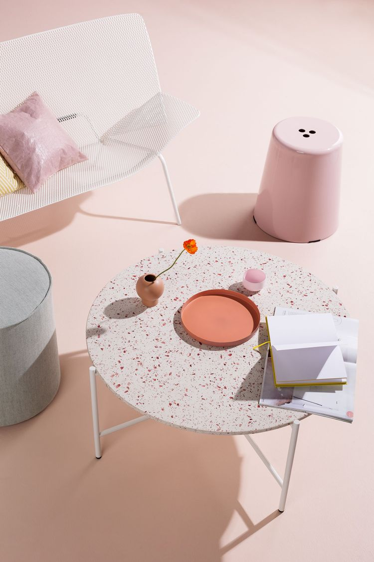 Dusty Pink Thimble Stool latest - doweljones | ello