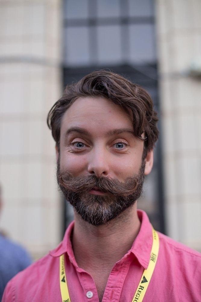 man wonderful facial hair // Si - honeyrevenge-amor | ello