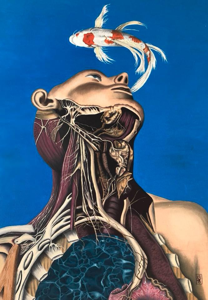Untitled. 56 36 cm, Oil canvas - katja777   ello