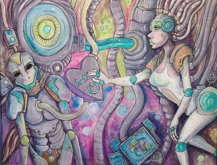 Future Love - Sysica, Acrylic P - sysica | ello