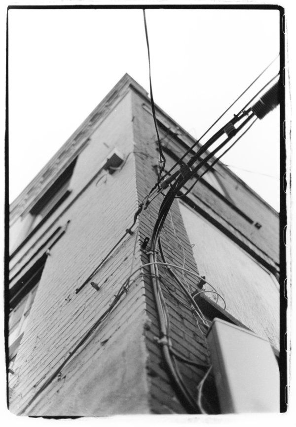 Spine, 2008 - Plattsburgh, wires - mlledarcel | ello