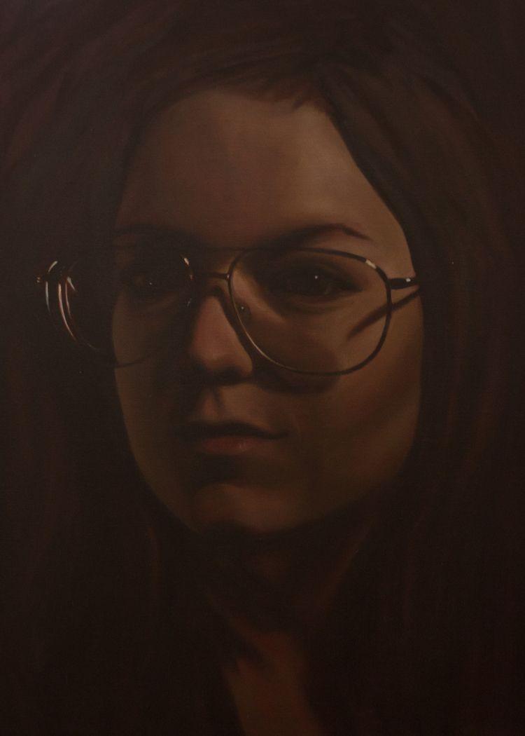 2012, oil canvas - portrait, oilpaint - mlledarcel | ello