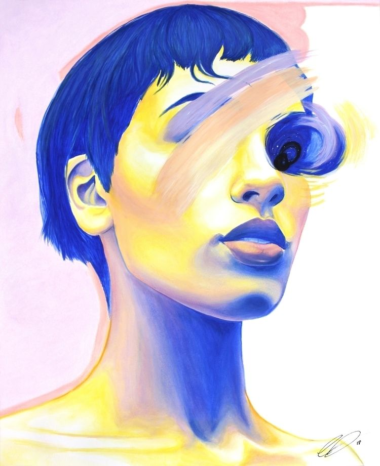 WEIGHTLESS Watercolor, pastel a - defectivebarbie | ello