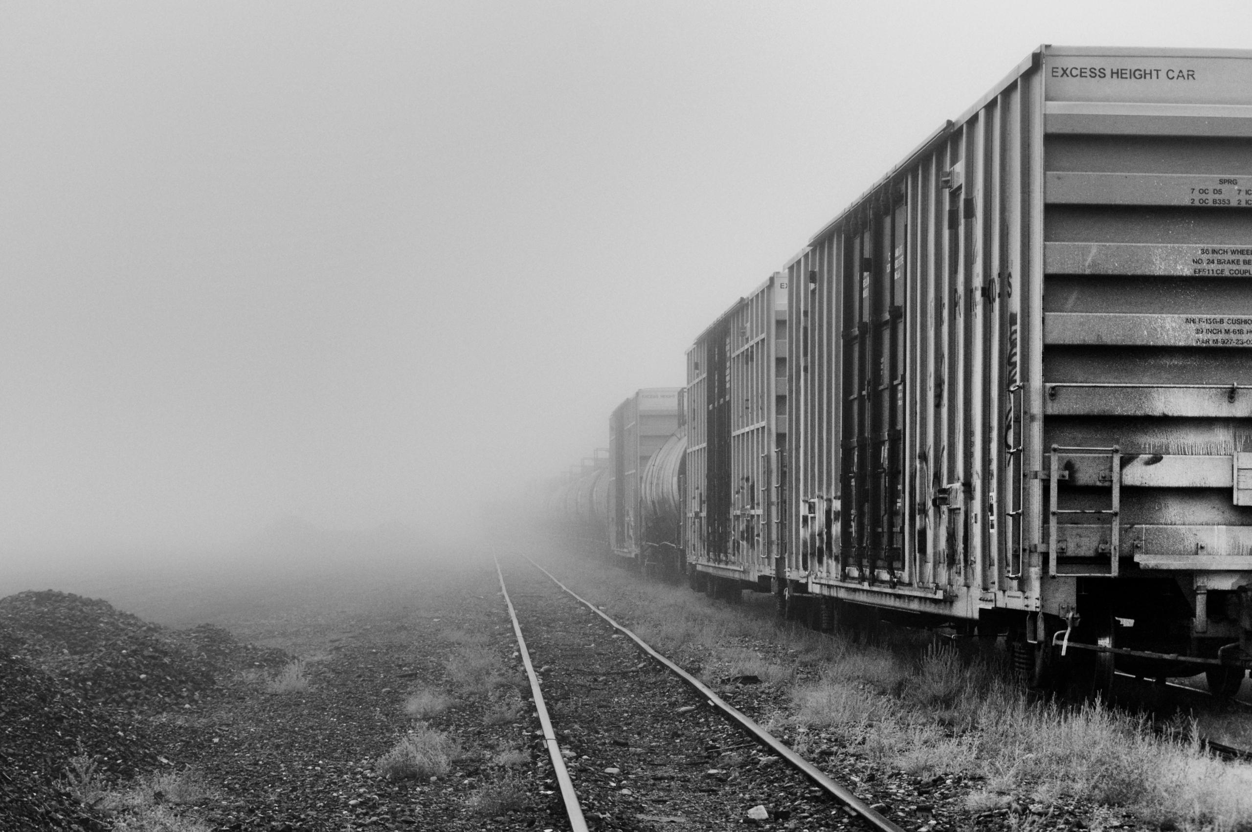 Railyard - bnw, bw, blackandwhitephotography - jeff_day | ello