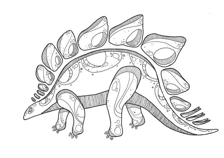 Stegosaurus love - stegosaurus, dinosaur - rietjevanhoof | ello