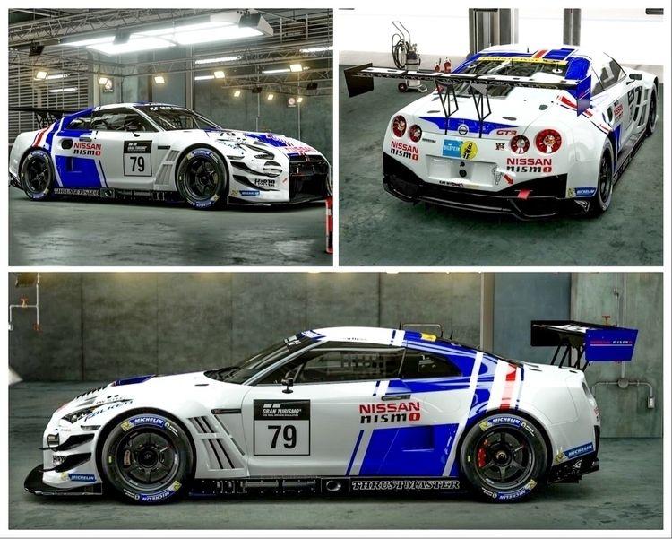 Created Zakspeed Nissan GT3 gts - marvin_gayral | ello