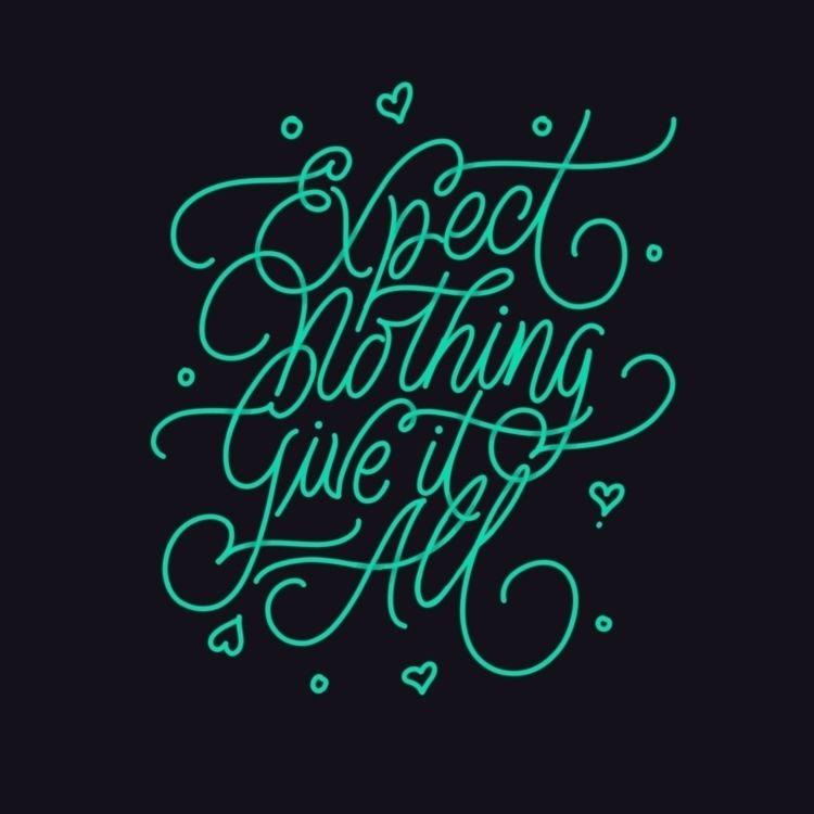 lettering - marcolpz | ello