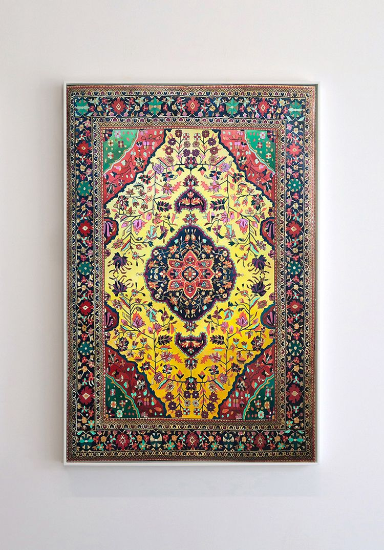 Hand-Painted Persian Carpets Vi - decorkiki | ello