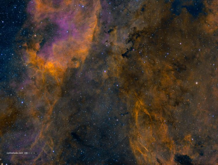 Gamma Cygni nebula west (Sh2-10 - carballada | ello