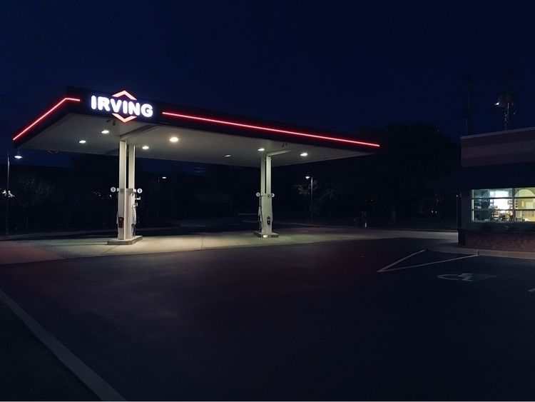 """Night Patrol,"" Gas Station Ser - edward3 