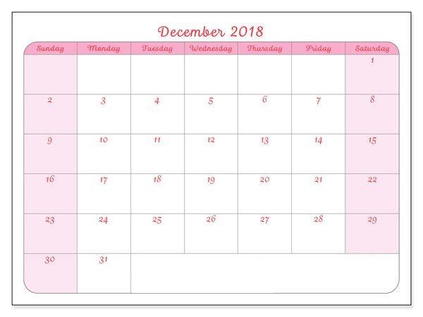 blank calendar 2018 free downlo - atillaengin123 | ello