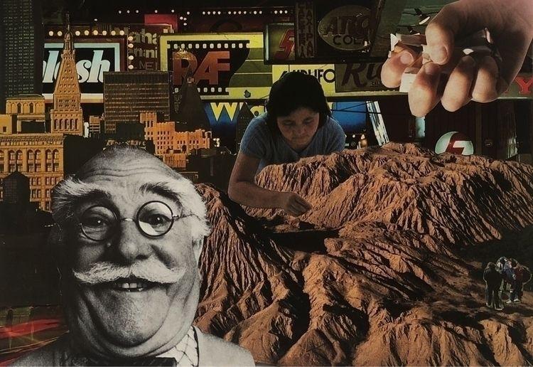 collage, collageart, handmade - samlittle | ello