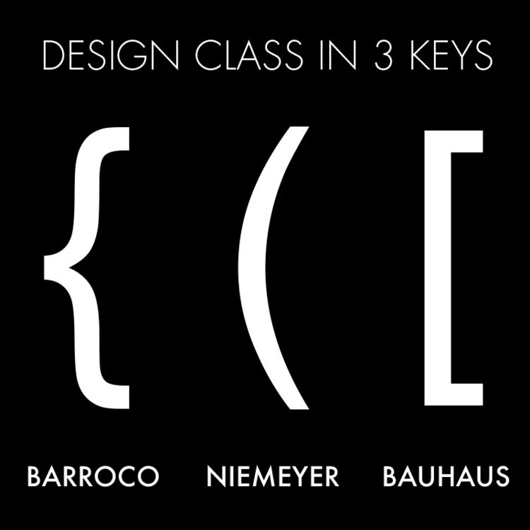 DESIGN CLASS 3 KEYS - Barroco, Niemeyer - bauhaus-movement | ello