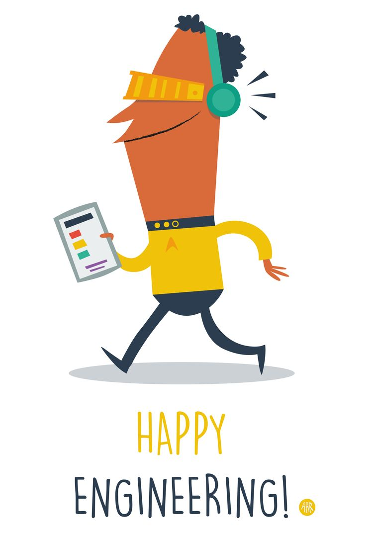 Happy Engineering! Inspired Sta - sweatshopillustrations | ello