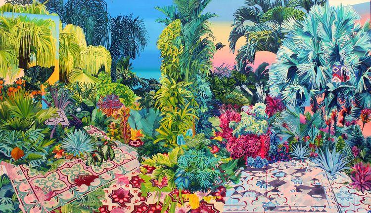 Jardin Alejandra Atares - artwxrk - artwxrk   ello