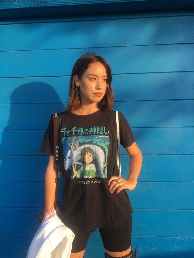 Wearing favorite anime shirt - spiritedaway - rcruzga | ello