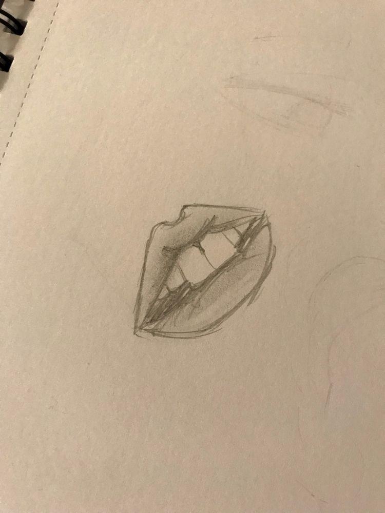 sketching practice, mouths terr - spellfire | ello