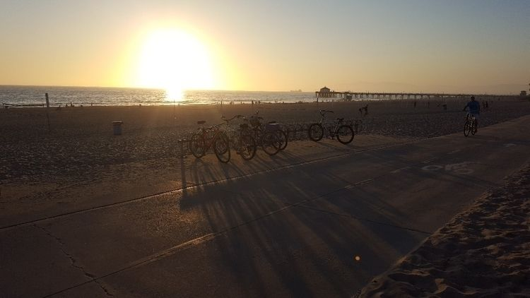 SUNSET - socal, ManhattanBeachPier - socalmad | ello