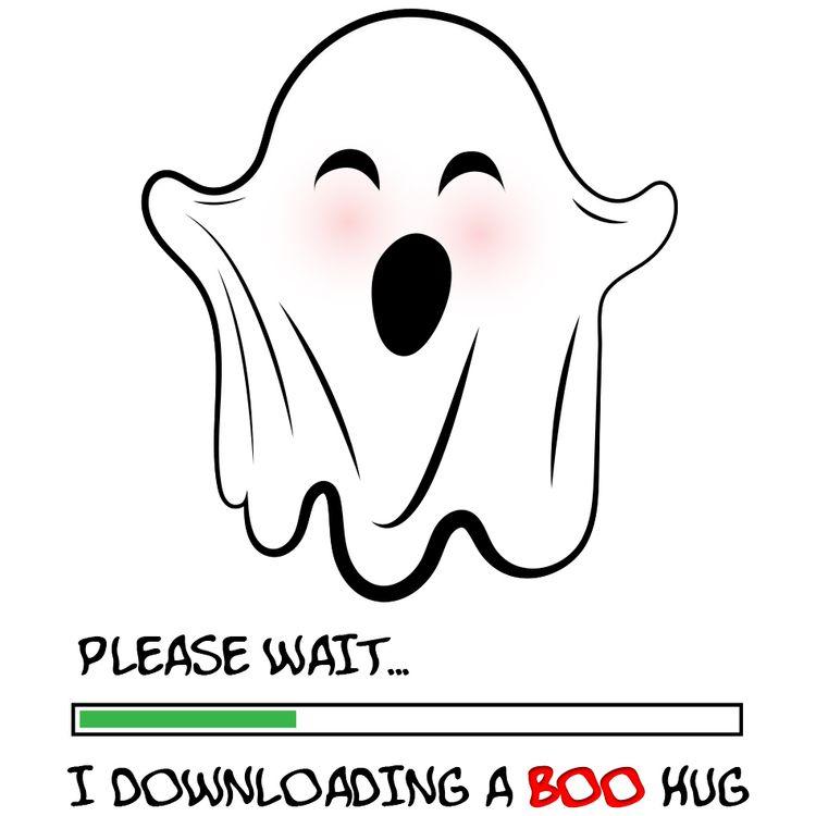 Ghost Hug ghost, big hug... cou - lidijam | ello