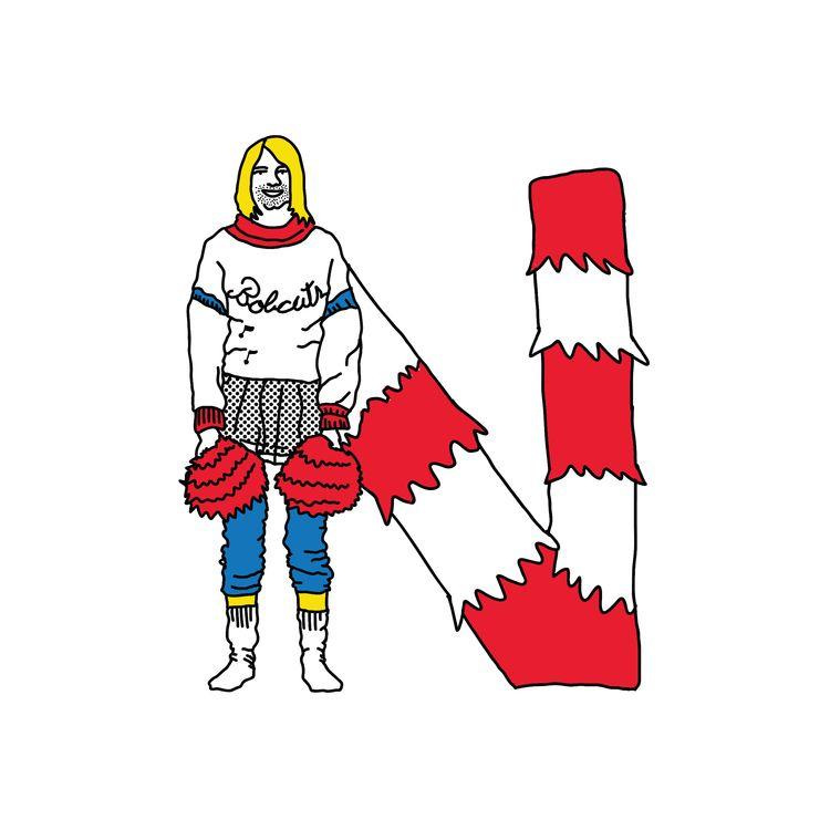 Letter - Nirvana 2016 - typography - rodzarain   ello